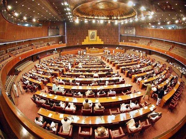 پاکستان کی قومی اسمبلی کے اجلاس ملتوی