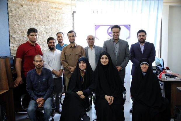 دیدار جمعی از اعضای شهرداری مشهد از تحریریه خبرگزاری مهر
