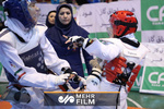 VIDEO: Iranian female taekwondo fighter defeats S Korean opponent