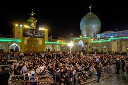 شاہ عبدالعظیم کے حرم میں ایام مسلمیہ کی پہلی شب میں عزاداری