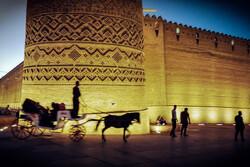 Şiraz'daki Kerim Han Kalesi'nden kareler