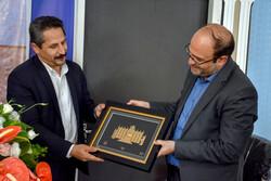 حضور شهردار تبریز در دفتر خبرگزاری مهر آذربایجان شرقی