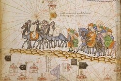 Caravan on the Silk Road, 1380 CE