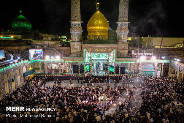 مراسم شب اول مسلمیه در حرم حضرت عبدالعظیم حسنی (ع)