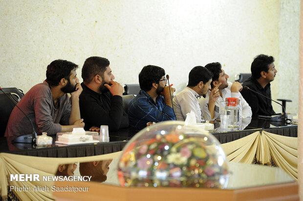 مراسم سالگرد شهید عارف الحسینی در اصفهان