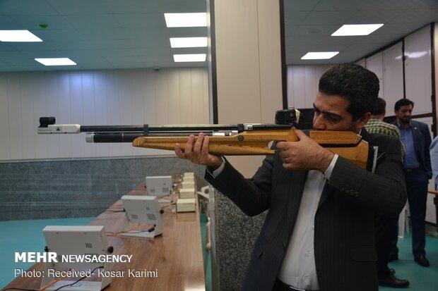 مسابقات تیراندازی به مناسبت روز خبرنگار در اهواز