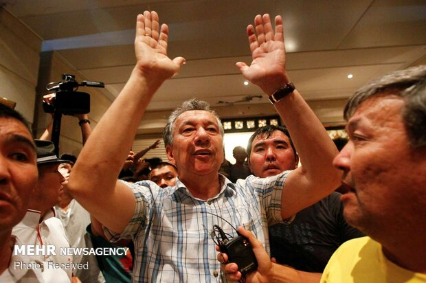 تلاش برای بازداشت رئیس جمهور سابق قرقیزستان