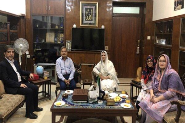دیدار رئیس نمایندگی فرهنگی ایران در لاهور با مسئولین موسسه قرآنی