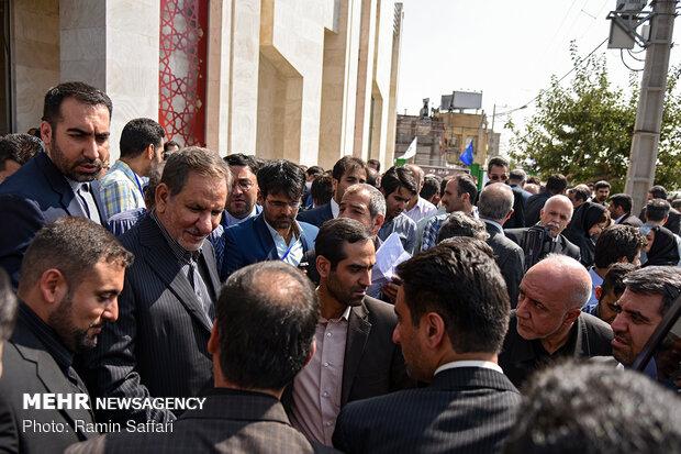 افتتاح ایستگاه پایانی خط ۲ قطار شهری مشهد