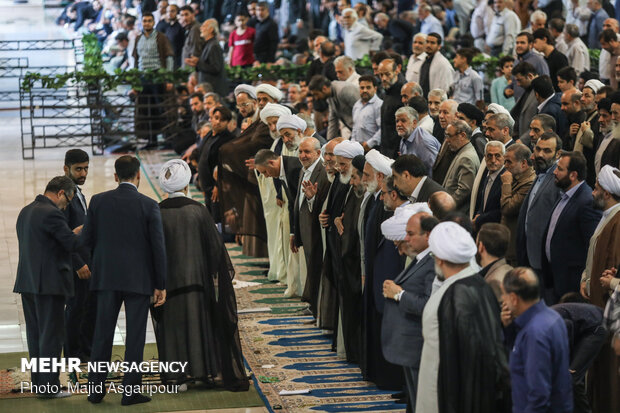 Friday prayers sermon in Tehran