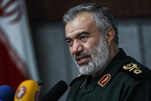 Iran has pushed enemies toward isolation: general