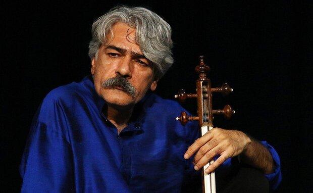 Kamancheh virtuoso Kayhan Kalhor in an undated photo.