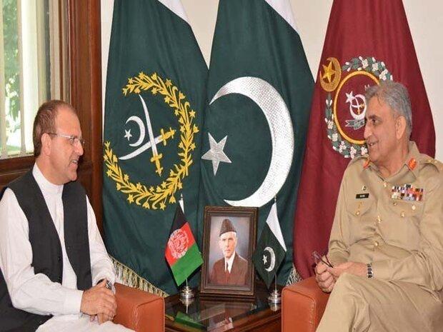 پاکستانی آرمی چیف سے افغان سفیر کی ملاقات