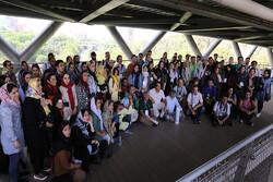 عصرانه عکاسی برگزار شد/ ثبت تصویری پل طبیعت تهران با حضور ۹۰ عکاس