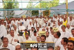 فیلمی از مراسم برائت از مشرکان در صحرای عرفات
