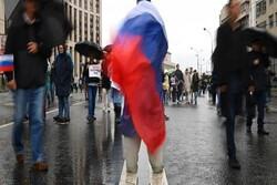 حضور بیش از ۱۵ هزار نفر در تجمعات قانونی در مسکو