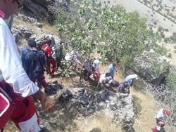 نجات دو کوهنورد در ارتفاعات سولقان