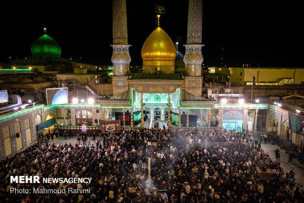 مراسم شب دوم مسلمیه در حرم حضرت عبدالعظیم حسنی (ع)