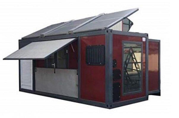 خانه تاشوی خورشیدی هم از راه رسید