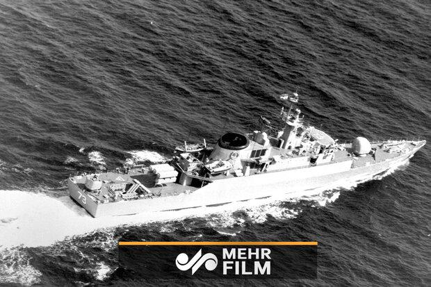 VIDEO: Watch moment UK frigate flees IRGC speed boats