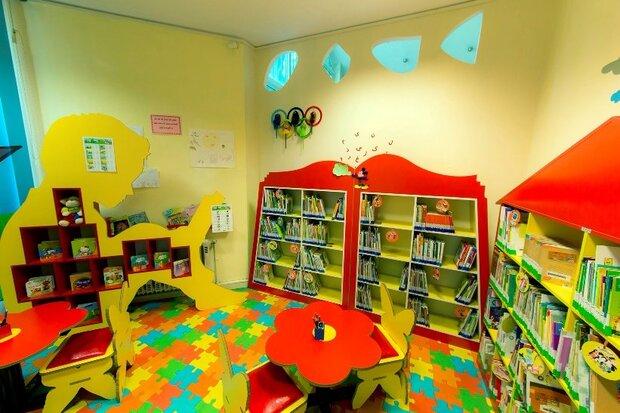 فعالیت بخش کودک در بیش از ۶۰ درصد کتابخانههای کرمانشاه