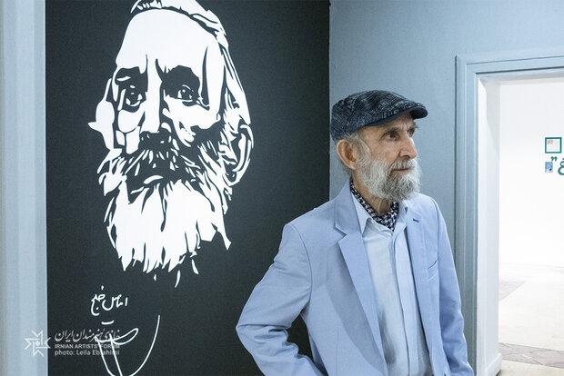 افتتاح نمایشگاه مروری بر آثار اسماعیل خلج در خانه هنرمندان