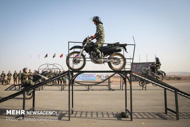 مراسم افتتاحیه مسابقات گشت جاده ای روسیه