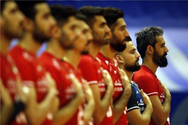 الكشف عن أسماء منتخب إيران للكرة الطائرة