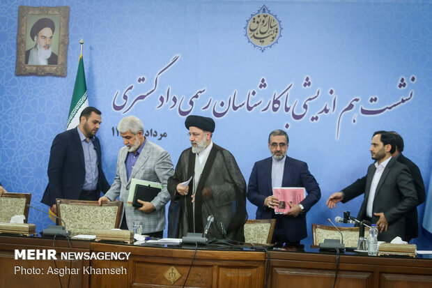 Mehr News Agency - Judiciary chief's meeting with legal experts