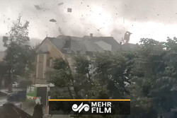 VIDEO: Tornado rips through Luxembourg
