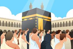 آمار حجاج بیت الله الحرام در سال ۱۳۹۷