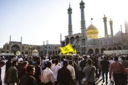مدافع حرم شہید توسلی کی تشییع جنازہ