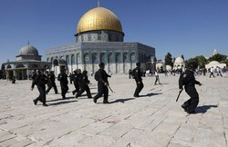 İsrail Kudüs'te onlarca Filistinliyi yaraladı