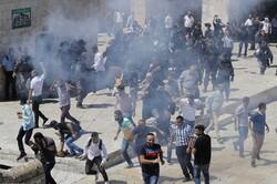 عید الاضحی کے موقع پر صہیونی فوجیوں کا فلسطینی نمازیوں پر حملہ