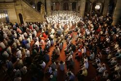 استنبول میں نماز عید الاضحی  ادا کی گئی