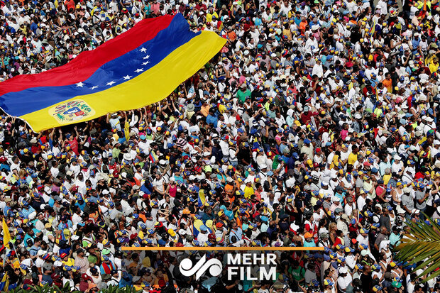 VIDEO: Venezuelan people fill streets to protest US sanctions