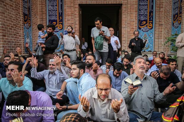 مراسم دعای عرفه در امام زاده قاضیالصابر