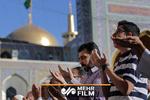 اقامه باشکوه نماز عید قربان در حرم مطهر رضوی