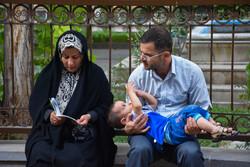 مراسم دعای عرفه در مسجد جامع تبریز