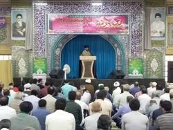 نماز  باشکوه عید سعید قربان در گناوه برگزار شد