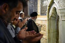 نماز عید سعید قربان در حرم مطهر رضوی