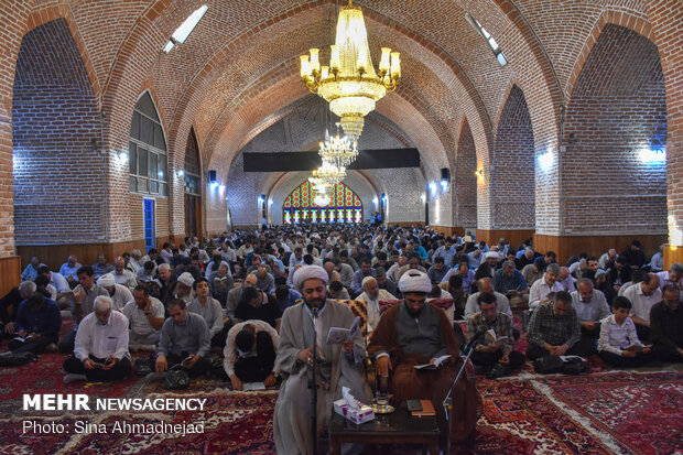 Mehr News Agency - People observe Arafa Day in Tabriz