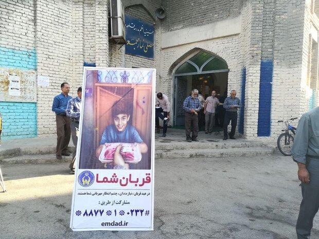 طرح ذبح عظیم در استان سمنان برگزار شد/ ذبح ۲۰۰۰ راس قربانی