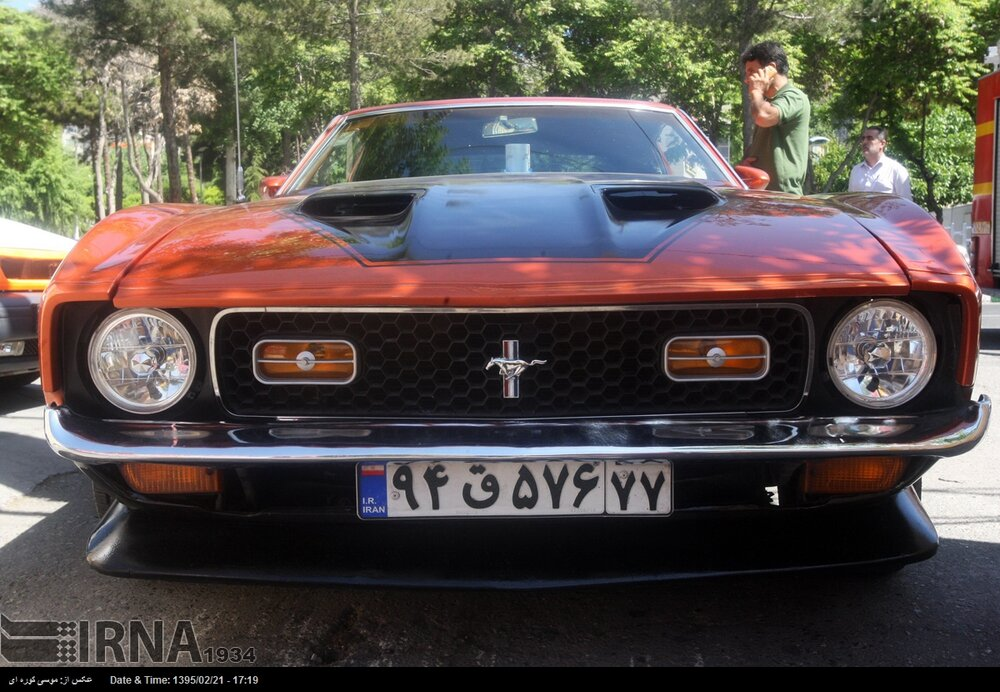 Cars To Go >> Vintage Cars To Go On Parade In Tehran Tehran Times