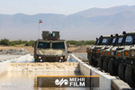 VIDEO: Defense Ministry's armored vehicle Ra'd