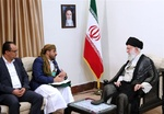 Critical points in meeting between Yemeni delegation and Iran's Leader