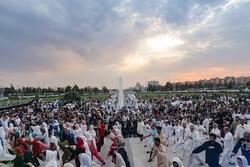 """عرض لهواة رياضة الـ """" ووشو"""" في العاصمة الإيرانية طهران"""