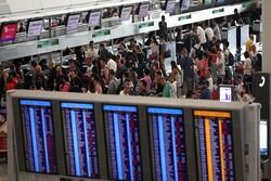 فرودگاه هنگ کنگ بازگشایی شد