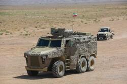 "İran yapımı ""Raad"" adlı zırhlı araç tanıtıldı"