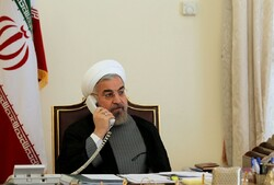 Rouhani calls Tehran-Baku ties friendly, growing